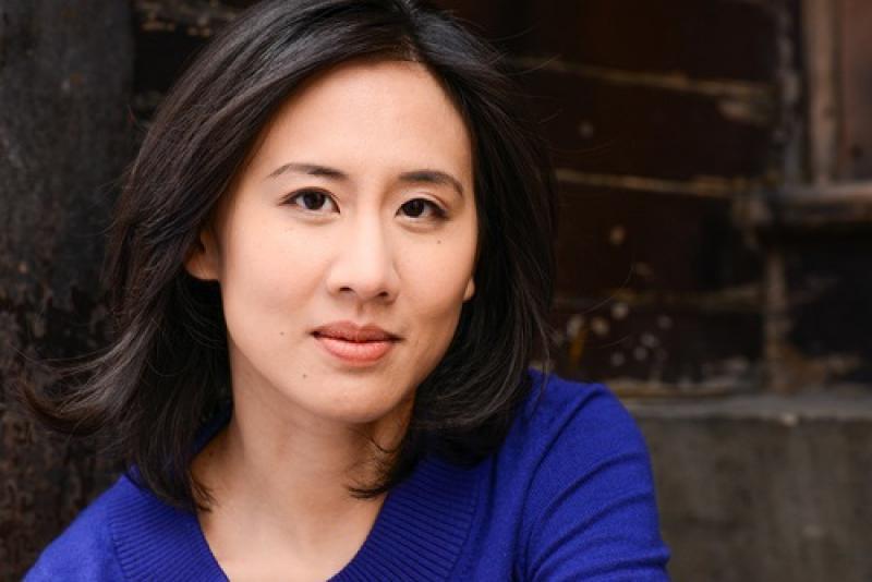 拿下2014最佳小說的華裔小說家 Photo: Kevin Day Photography