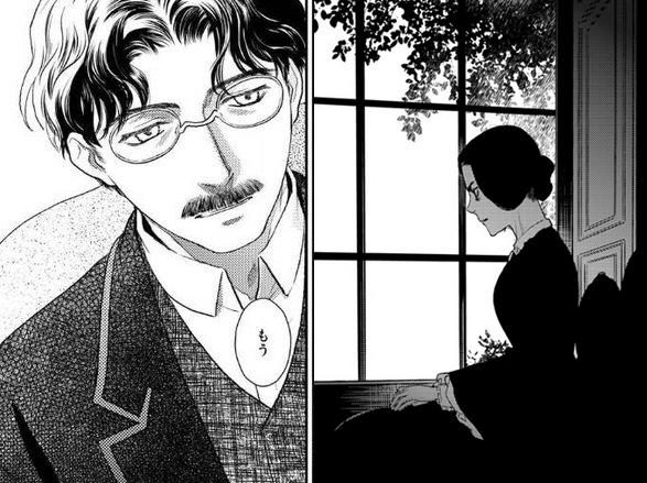 亞瑟伯爵與他的夫人安娜(圖/《薔薇下的真相》內頁)