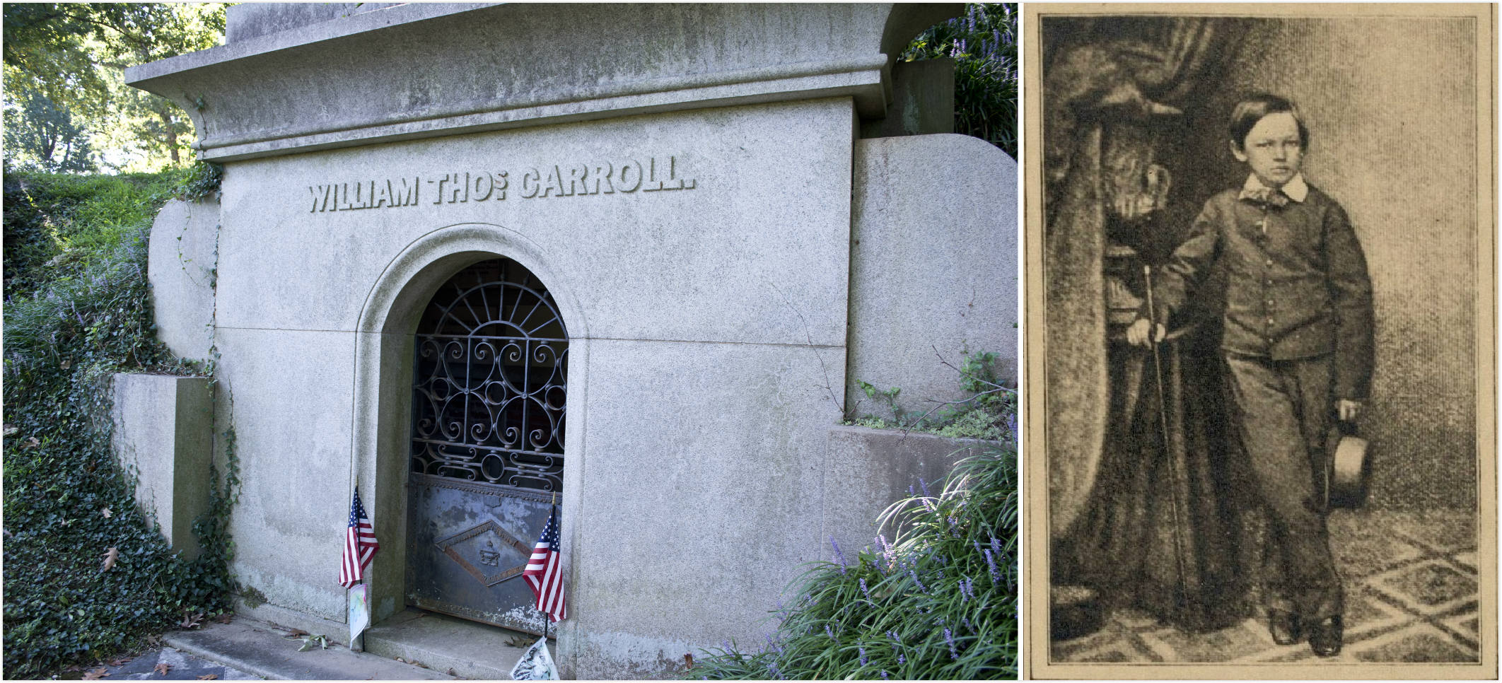 1.威利之墓 William Thomas. Carroll Crypt