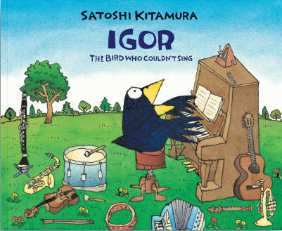 Igor the Bird Who Couldn't Sing