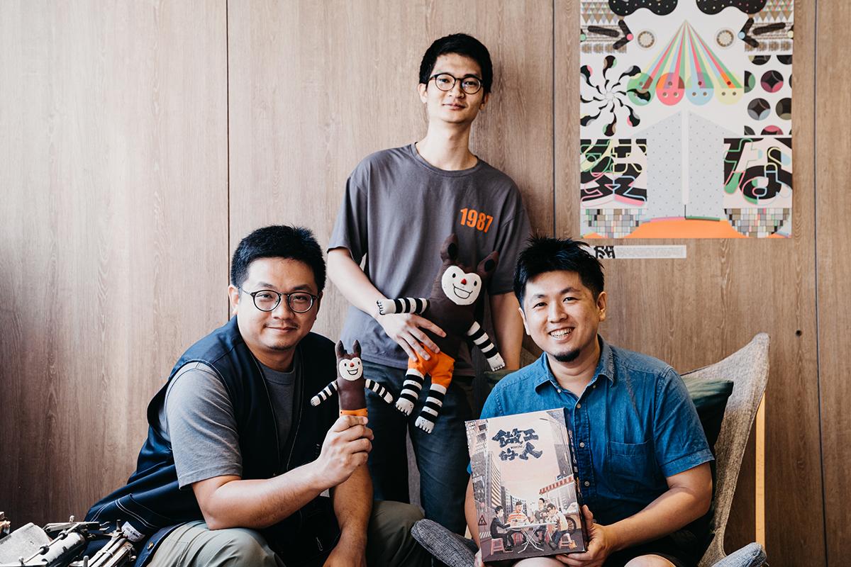 Byebyechuchu掰掰啾啾(左)與黃色書刊YELLOW BOOK(攝影/張顥)