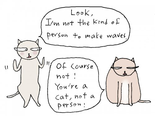 make wave