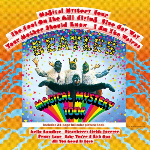 歌物件-醜封面-Magical Mystery Tour (1967)