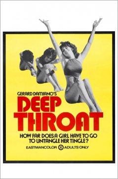 《深喉嚨》電影海報