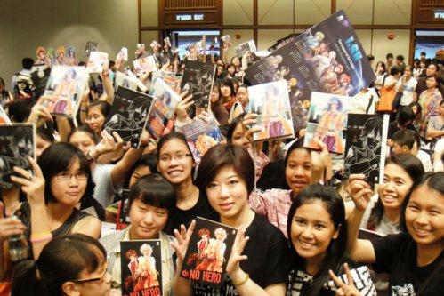 御我在泰國書展簽名會