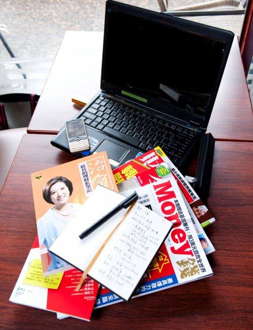 【企業戰士的筆記術】林奇芬:桌