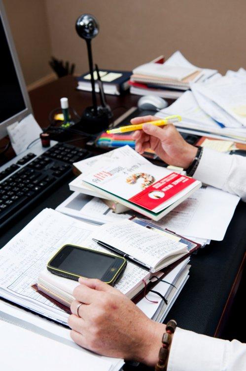 【企業戰士的筆記術】謝健南:桌