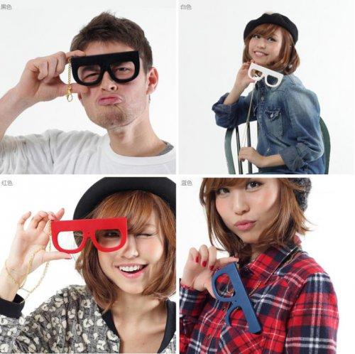 眼鏡造型玩具數位相機-2
