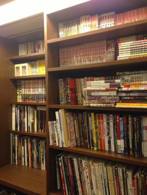 小莊的漫畫書櫃